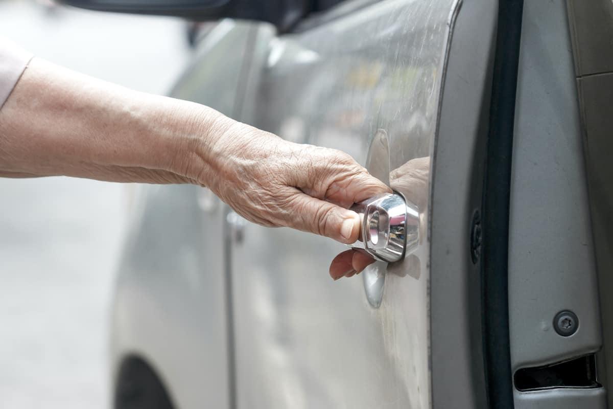 car assist handle