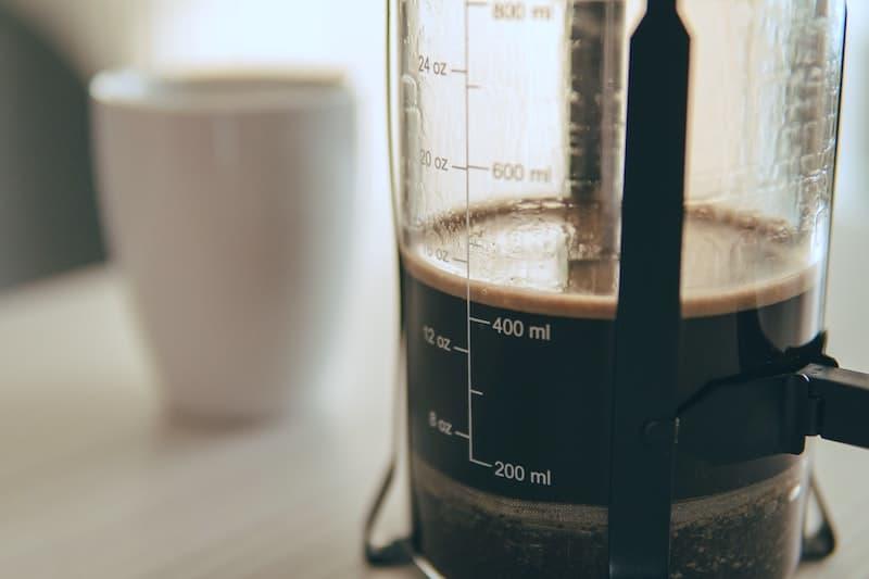 coffee maker measurements