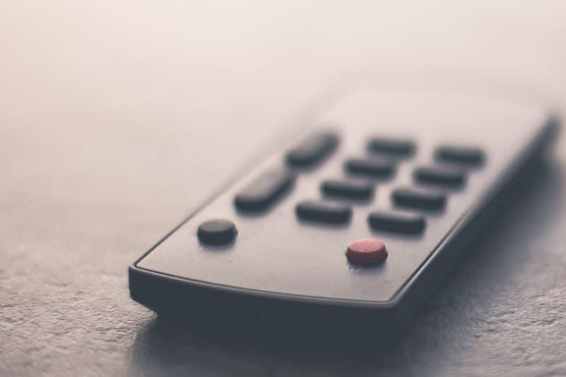 simple TV remote