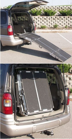 PVI - Rear Door Van Ramp
