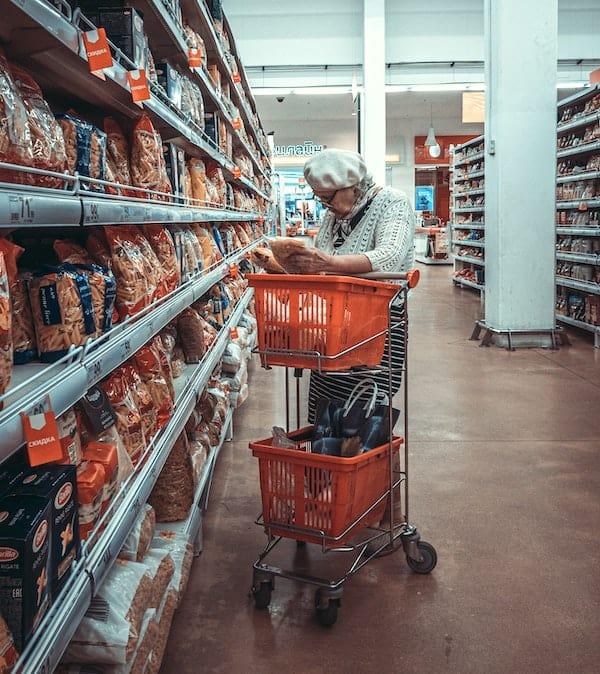 shopping carts for elderly