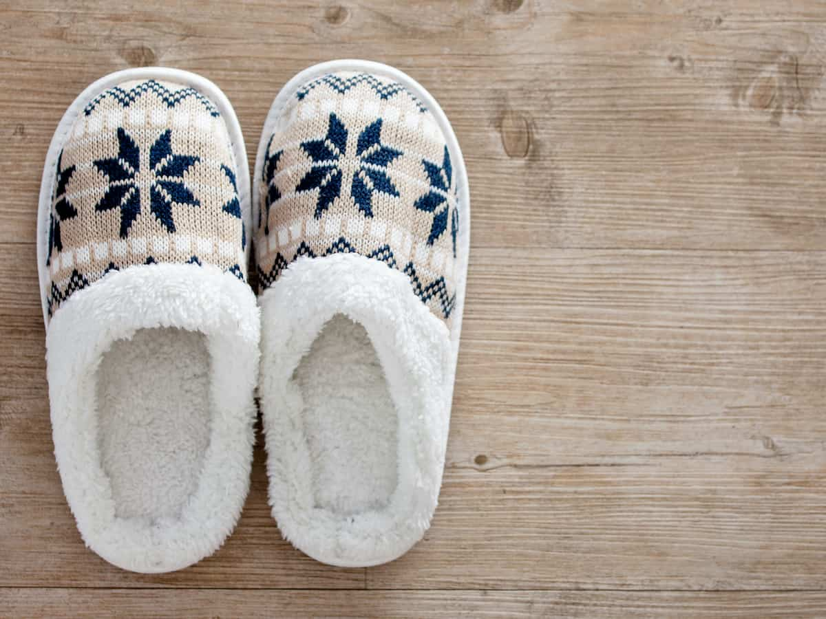 senior elderly slippers