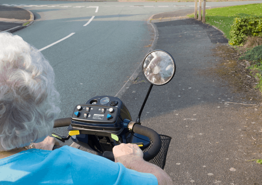 benefits of mobility scooters