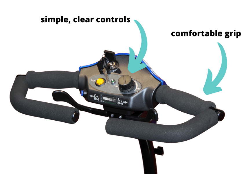 mobility scooter controls