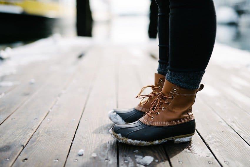 low heel boot