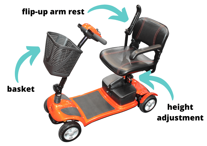folding scooter features
