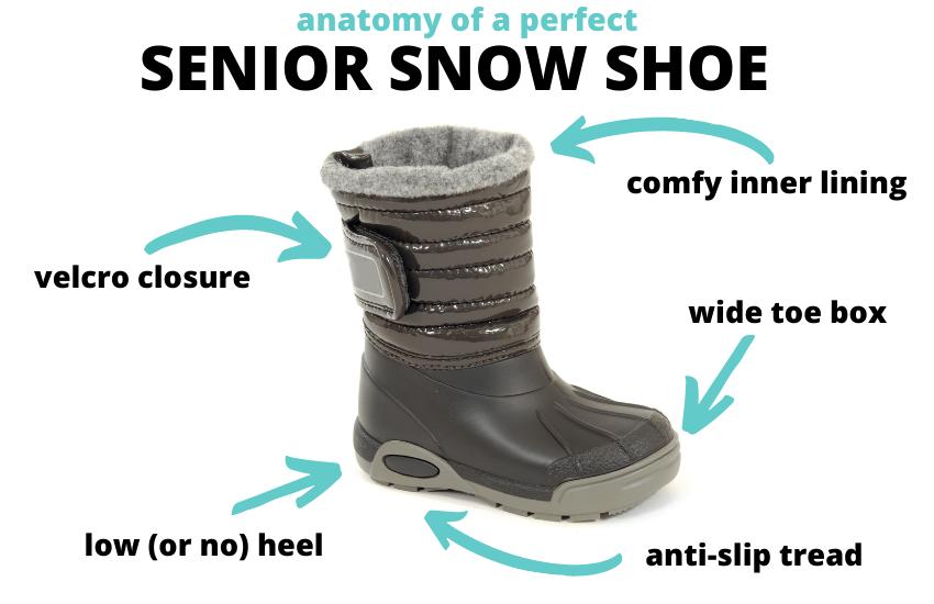 winter boot for seniors