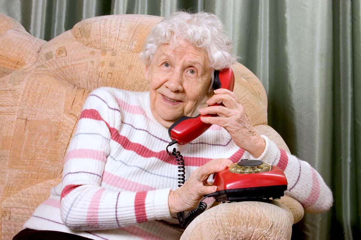 home phone for elderly