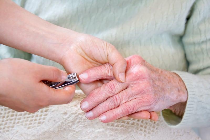 elderly nail safety